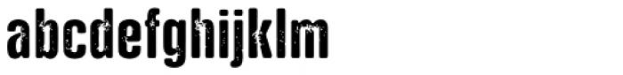 NATRON Rough Medium Font LOWERCASE