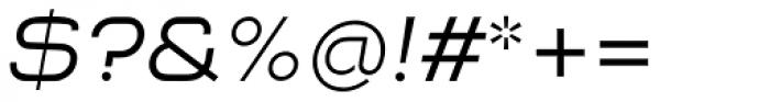 NaNa Pro Italic Font OTHER CHARS