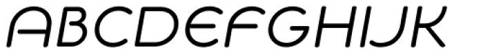 NaNa Rounded Pro talic Font UPPERCASE