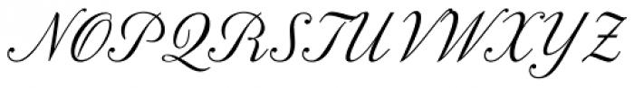 Nabuco Regular Font UPPERCASE
