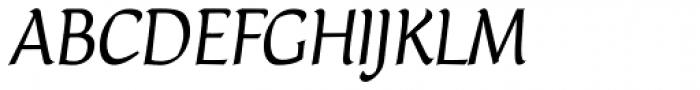 Naej Italic Font UPPERCASE