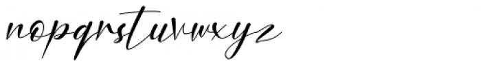 Nafiri Italic Font LOWERCASE