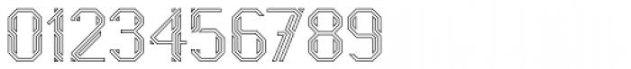 Naga Outline Font OTHER CHARS