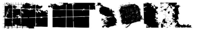 Nageka Dirt Font LOWERCASE