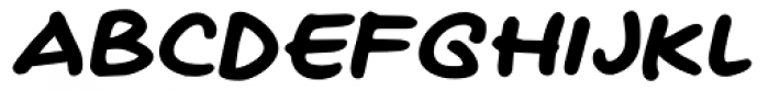 Naghead Italic Font UPPERCASE