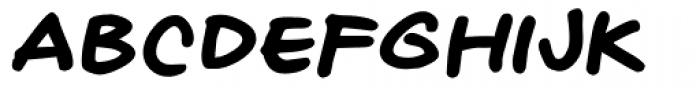 Naghead Italic Font LOWERCASE