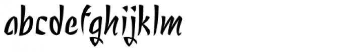 Nagomi Font LOWERCASE