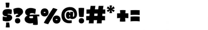 Naguel Black Font OTHER CHARS