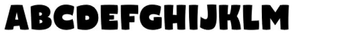 Naguel Black Font UPPERCASE