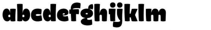 Naguel Black Font LOWERCASE