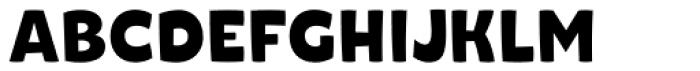 Naguel Bold Font UPPERCASE