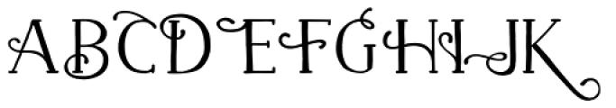 Naive Fantaisies Bold Font UPPERCASE