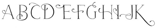 Naive Fantaisies Light Font UPPERCASE