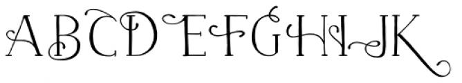 Naive Fantaisies Medium Font LOWERCASE