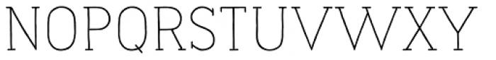 Naive Line Regular Font UPPERCASE