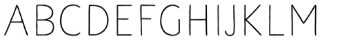 Naive Line Sans Regular Font UPPERCASE