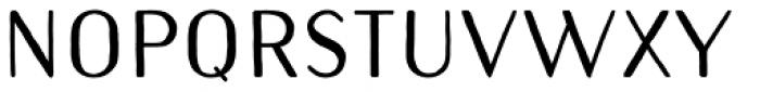 Naive Sans Bold Font UPPERCASE
