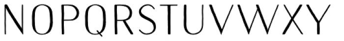 Naive Sans Medium Font UPPERCASE