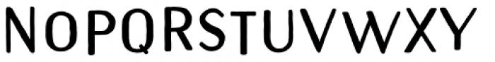 Naive Sans Shake Black Font UPPERCASE