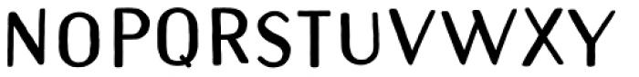 Naive Sans Shake Black Font LOWERCASE
