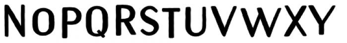 Naive Sans Shake Extrablack Font UPPERCASE