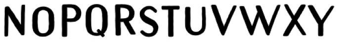 Naive Sans Shake Extrablack Font LOWERCASE