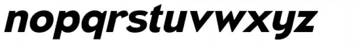 Naked Power Bold Italic Font LOWERCASE