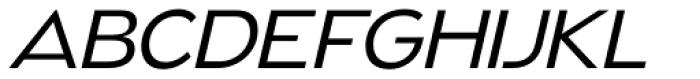 Naked Power Light Italic Font UPPERCASE