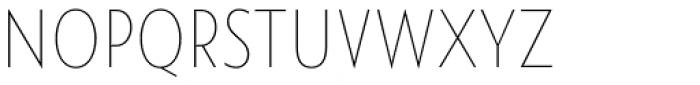Namaste Sans Essential Thin Font UPPERCASE