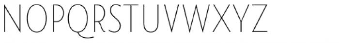 Namaste Sans Essential Thin Font LOWERCASE