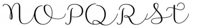 Namaste Script Pro Regular Font UPPERCASE