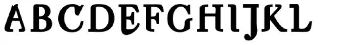 Nameless Bold Font UPPERCASE