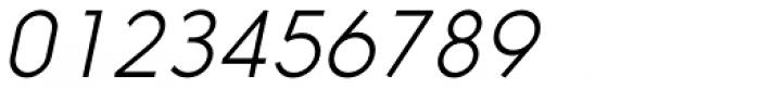 Nanami ExtraLight Oblique Font OTHER CHARS