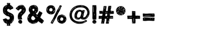 Nanami Handmade Bold Font OTHER CHARS
