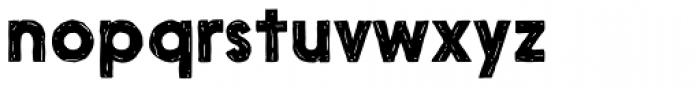 Nanami Handmade Bold Font LOWERCASE