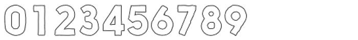 Nanami Handmade Outline Bold Font OTHER CHARS