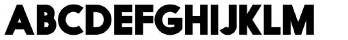 Nanami Heavy Font UPPERCASE