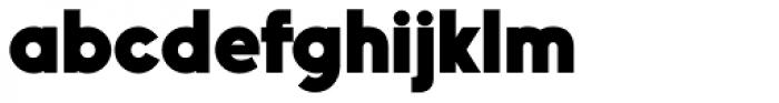 Nanami Heavy Font LOWERCASE