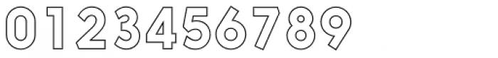 Nanami Outline Font OTHER CHARS