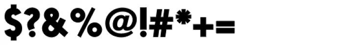 Nanami Pro Black Font OTHER CHARS