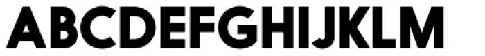 Nanami Pro Black Font UPPERCASE