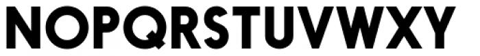 Nanami Pro Bold Font UPPERCASE