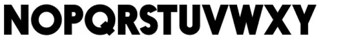 Nanami Pro Heavy Font UPPERCASE