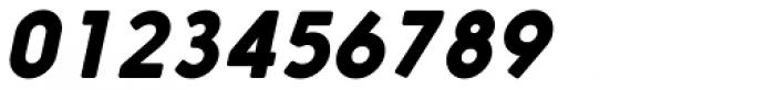 Nanami Rounded Black Oblique Font OTHER CHARS