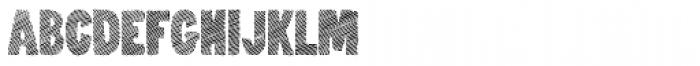 Nanquim Stamp Font UPPERCASE