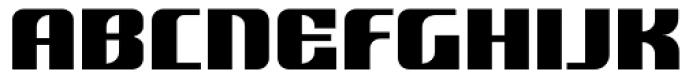Nantua Flava XL Font UPPERCASE