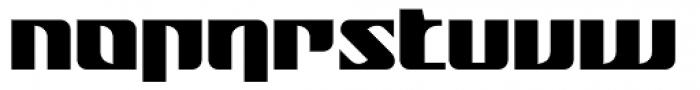 Nantua Flava XL Font LOWERCASE
