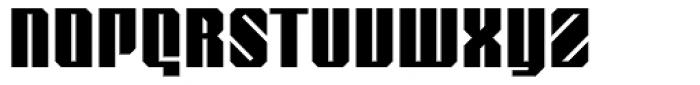 Nantua Roman Font UPPERCASE
