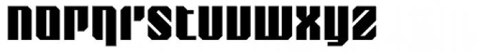 Nantua Roman Font LOWERCASE