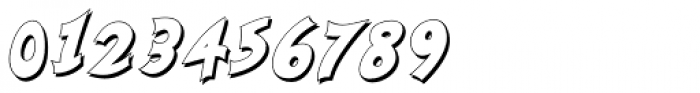 Nanumunga Shadow Bold Oblique Font OTHER CHARS
